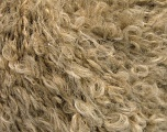 Fiber Content 45% Acrylic, 25% Wool, 20% Mohair, 10% Polyamide, Brand Ice Yarns, Beige Melange, fnt2-54044