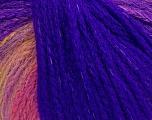 Fiber Content 44% Wool, 40% Acrylic, 16% Polyamide, Purple, Pink, Brand ICE, Gold, Yarn Thickness 5 Bulky  Chunky, Craft, Rug, fnt2-54063