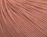 Fiber Content 60% Cotton, 40% Polyamide, Powder Pink, Brand Ice Yarns, fnt2-54087
