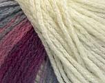 Contenido de fibra 44% Lana, 40% Acrílico, 16% Poliamida, Pink, Lilac, Brand Ice Yarns, Cream, Blue, fnt2-54115