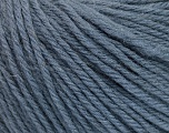 Fiber Content 100% Wool, Smoke Blue, Brand ICE, Yarn Thickness 4 Medium  Worsted, Afghan, Aran, fnt2-54117