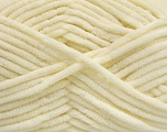 Fiber Content 100% Micro Fiber, Brand Ice Yarns, Cream, Yarn Thickness 4 Medium  Worsted, Afghan, Aran, fnt2-54139