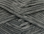 Fiber Content 100% Micro Fiber, Brand Ice Yarns, Grey, Yarn Thickness 4 Medium  Worsted, Afghan, Aran, fnt2-54140