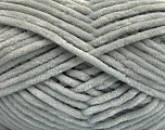 Fiber Content 100% Micro Fiber, Light Grey, Brand Ice Yarns, Yarn Thickness 4 Medium  Worsted, Afghan, Aran, fnt2-54141