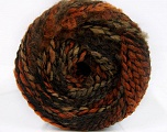 Fiber Content 38% Wool, 32% Acrylic, 20% Alpaca, 10% Polyamide, Orange, Brand Ice Yarns, Camel, Brown Shades, Black, fnt2-54181
