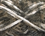 Fiber Content 70% Micro Fiber, 30% Polyamide, White, Brand Ice Yarns, Brown Shades, fnt2-54197