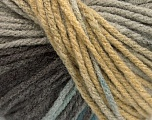 Fiber Content 100% Acrylic, Brand Ice Yarns, Cream, Brown, Blue, Beige, fnt2-54228
