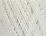 Fiber indhold 100% Metallisk Lurex, White, Brand Ice Yarns, fnt2-54245