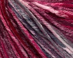 Fiber Content 100% Acrylic, White, Pink, Brand Ice Yarns, Grey, Burgundy, fnt2-54263