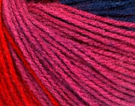 Fiber indhold 100% Akryl, Red, Pink, Navy, Lilac, Brand Ice Yarns, fnt2-54270