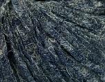 Fiber indhold 40% Bomuld, 35% Akryl, 25% Polyamid, Brand Ice Yarns, Blue Melange, fnt2-54285