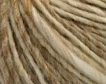 Contenido de fibra 50% Lana, 50% Acrílico, Brand Ice Yarns, Cream, Beige, fnt2-54291