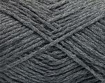 Fiber Content 50% Acrylic, 50% Polyamide, Brand Ice Yarns, Grey Melange, fnt2-54366