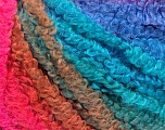 Fiber Content 90% Acrylic, 10% Polyamide, Turquoise Shades, Pink Shades, Lilac, Brand Ice Yarns, fnt2-54375