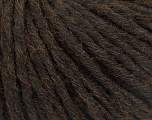 Vezelgehalte 55% Acryl, 45% Wol, Brand Ice Yarns, Dark Brown, fnt2-54376