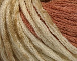 Fiber indhold 50% Uld, 50% Akryl, Light Salmon, Khaki, Brand Ice Yarns, Cream, fnt2-54381