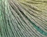 Fiber indhold 55% Akryl, 30% Uld, 15% Polyamid, Brand Ice Yarns, Grey, Green Shades, fnt2-54392
