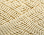 Fiber indhold 50% Akryl, 50% Bomuld, Brand Ice Yarns, Cream, fnt2-54398
