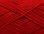 Fasergehalt 50% Acryl, 50% Polyamid, Red, Brand Ice Yarns, fnt2-54405