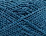 Fiber indhold 50% Polyamid, 50% Akryl, Brand Ice Yarns, Dark Teal, fnt2-54406