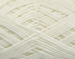Fiber Content 50% Polyamide, 50% Acrylic, White, Brand Ice Yarns, fnt2-54437