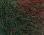 Fiber Content 63% Acrylic, 37% Wool, Red, Brand Ice Yarns, Green, Burgundy, fnt2-54451