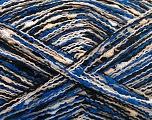 Fasergehalt 100% Polyamid, White, Brand Ice Yarns, Cream, Blue, Black, fnt2-54548