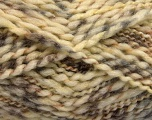 Fiber Content 60% Superwash Wool, 40% Acrylic, Brand Ice Yarns, Cream, Camel, fnt2-54564