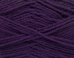 Worsted  Fasergehalt 100% Acryl, Purple, Brand Ice Yarns, fnt2-54670