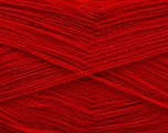Very thin yarn. It is spinned as two threads. So you will knit as two threads. Yardage information is for only one strand. Fiber Content 100% Acrylic, Brand Ice Yarns, Dark Red, fnt2-54705