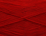 Very thin yarn. It is spinned as two threads. So you will knit as two threads. Yardage information is for only one strand. Fiber Content 100% Acrylic, Red, Brand Ice Yarns, fnt2-54706