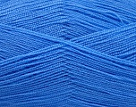 Very thin yarn. It is spinned as two threads. So you will knit as two threads. Yardage information is for only one strand. Fiber Content 100% Acrylic, Indigo Blue, Brand Ice Yarns, fnt2-54721