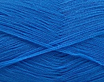 Very thin yarn. It is spinned as two threads. So you will knit as two threads. Yardage information is for only one strand. Fiber Content 100% Acrylic, Jeans Blue, Brand Ice Yarns, fnt2-54722