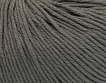 Global Organic Textile Standard (GOTS) Certified Product. CUC-TR-017 PRJ 805332/918191 Fiber Content 100% Organic Cotton, Brand Ice Yarns, Grey, fnt2-54726