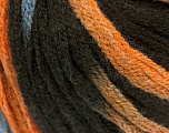 Contenido de fibra 50% Acrílico, 50% Lana, Orange, Brand Ice Yarns, Brown, Blue, fnt2-54766