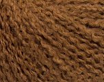 Fiber Content 42% Wool, 33% Acrylic, 19% Alpaca, 1% Elastan, Light Brown, Brand Ice Yarns, fnt2-54810