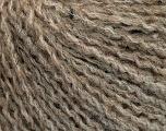 Fasergehalt 42% Wolle, 33% Acryl, 19% Alpaka, 1% Elastan, Brand Ice Yarns, Camel, Beige, fnt2-54811