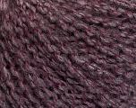 Fasergehalt 42% Wolle, 33% Acryl, 19% Alpaka, 1% Elastan, Maroon, Brand Ice Yarns, Grey, fnt2-54813