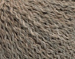 Fasergehalt 42% Wolle, 33% Acryl, 19% Alpaka, 1% Elastan, Brand Ice Yarns, Beige Melange, fnt2-54825
