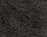 Fasergehalt 44% Kid Mohair, 44% Baby Alpaka, 12% Polyamid, Brand Ice Yarns, Dark Brown, fnt2-54838