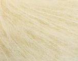 Fasergehalt 44% Kid Mohair, 44% Baby Alpaka, 12% Polyamid, Brand Ice Yarns, Cream, fnt2-54840