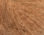 Fiber Content 44% Kid Mohair, 44% Baby Alpaca, 12% Polyamide, Brand Ice Yarns, Cafe Latte, fnt2-54844