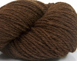 Yarn is hand sheered and all natural undyed wool. Conţinut de fibre 100% Natural Undyed Wool, Brand Ice Yarns, Dark Brown, fnt2-54872
