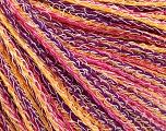 Vezelgehalte 100% Katoen, Yellow, White, Purple, Pink, Brand Ice Yarns, fnt2-54899