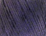 Fiber Content 68% Viscose, 32% Metallic Lurex, Purple, Brand Ice Yarns, fnt2-54908