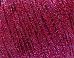Fiber Content 68% Viscose, 32% Metallic Lurex, Red, Lilac, Brand Ice Yarns, fnt2-54911