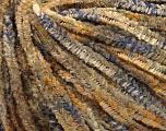 Fiber Content 100% Micro Fiber, Brand Ice Yarns, Gold, Camel, Blue, fnt2-54991