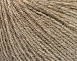Fiber Content 43% Acrylic, 4% PBT, 36% Alpaca Superfine, 17% Merino Wool, Brand Ice Yarns, Beige, fnt2-55049