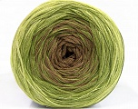 Fiber Content 50% Acrylic, 50% Cotton, Brand ICE, Green, Camel, Yarn Thickness 2 Fine  Sport, Baby, fnt2-55057