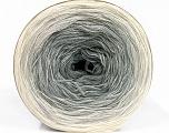 Fiber Content 50% Acrylic, 50% Cotton, Brand ICE, Grey Shades, Cream, Yarn Thickness 2 Fine  Sport, Baby, fnt2-55063